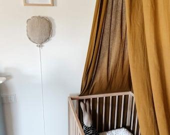 Linen Balloon Children's Room Decoration beige