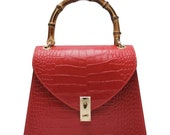 Made In Italy leather bag.