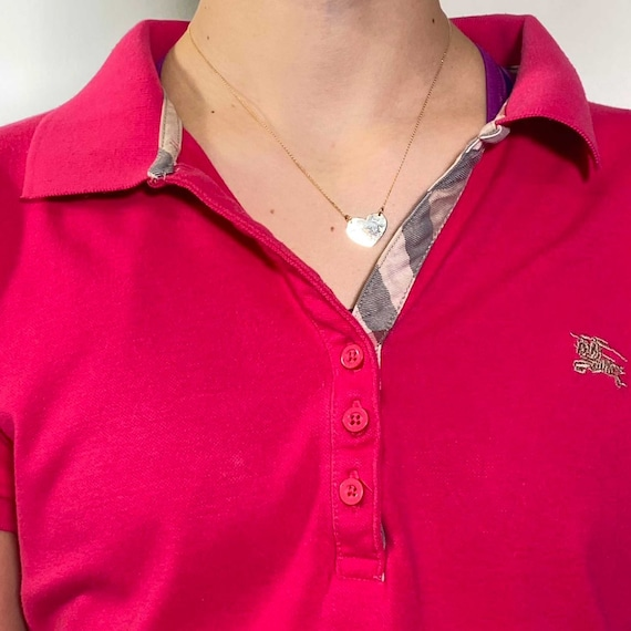 Vintage 2000s strawberry polo shirt - image 2