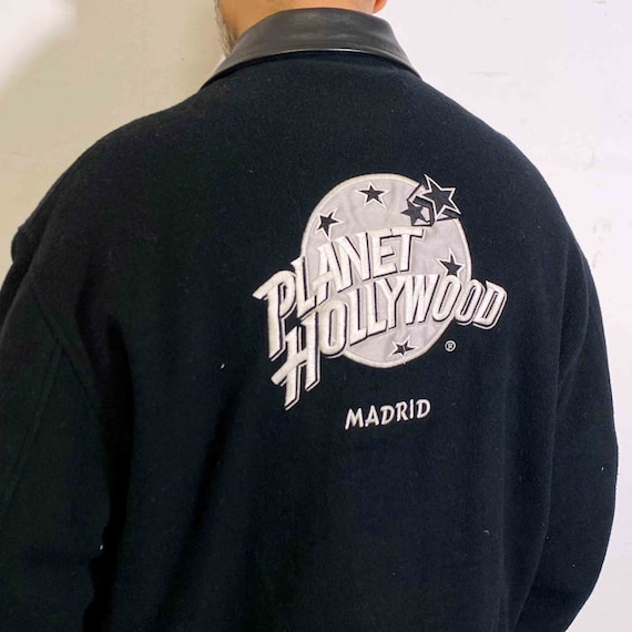 Vintage bomber Planet Hollywood Jacket 90s Madrid