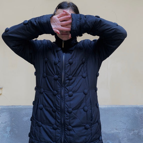Moschino Buttons puffy coat