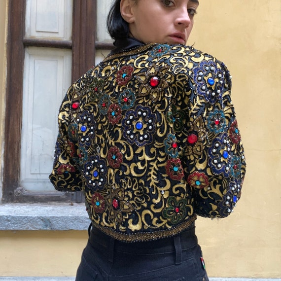 Bolero sequins jacket
