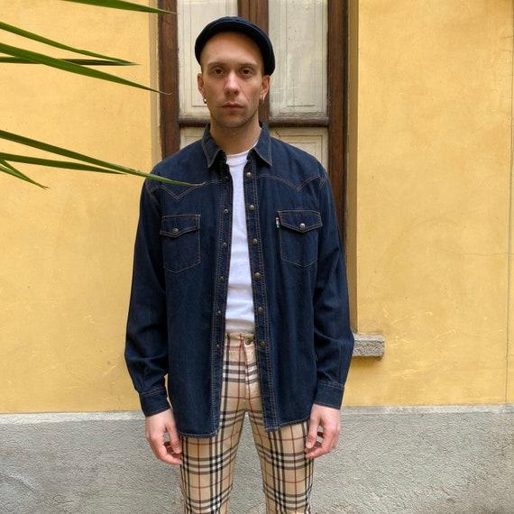 Moschino denim vintage shirt