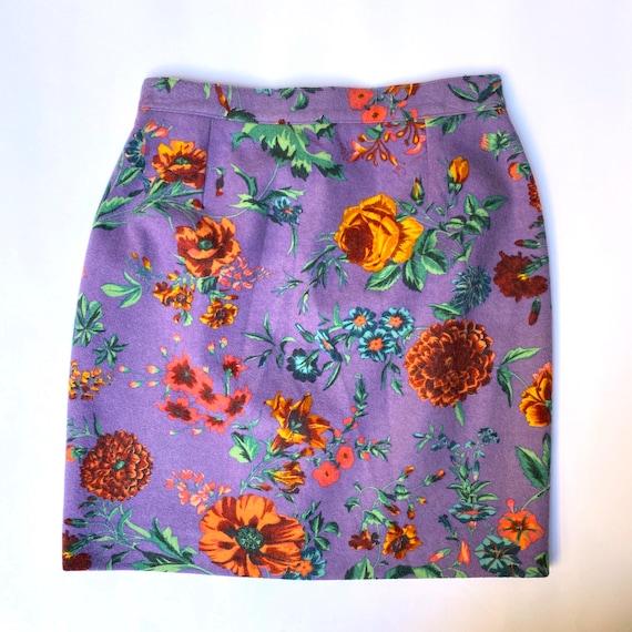 Kenzo floral skirt