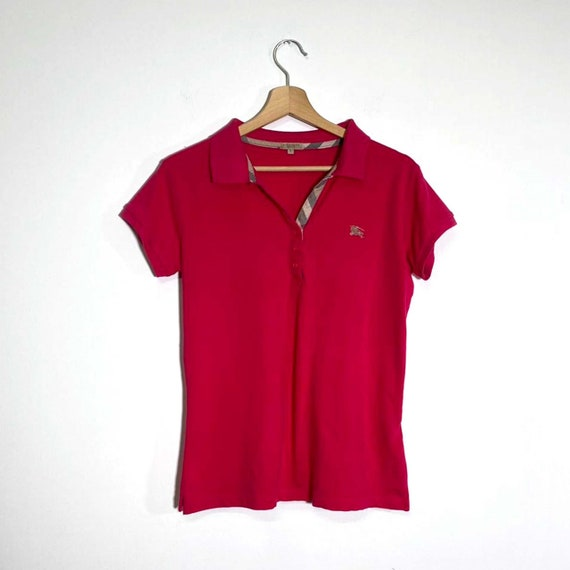Vintage 2000s strawberry polo shirt - image 5