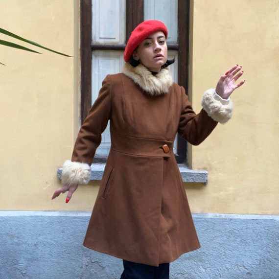 60s wool coat