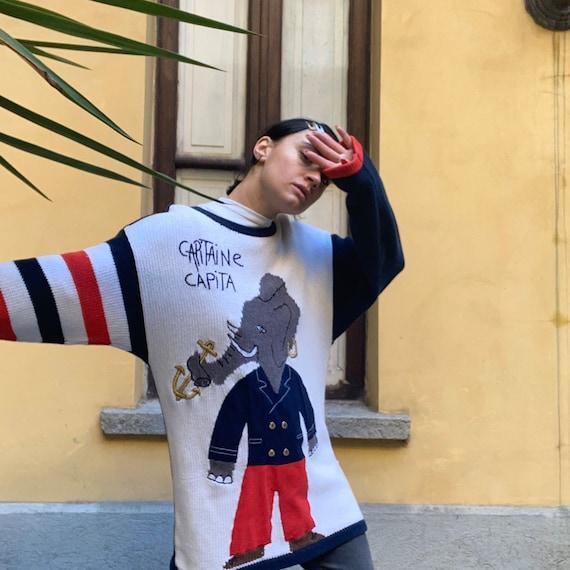 Castelbajac vintage sweater