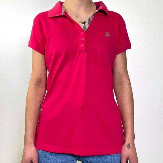 Vintage 2000s strawberry polo shirt - image 4
