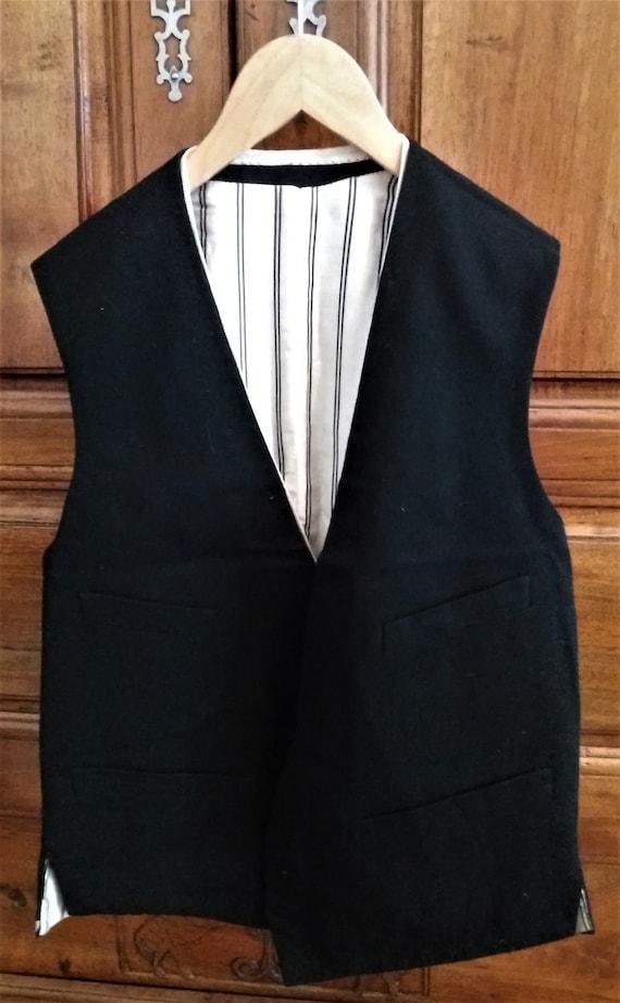 Antique french vest for men 1928