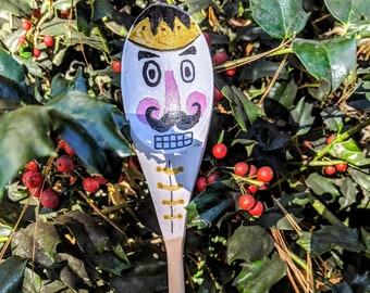 Nutcracker painted wooden spoon