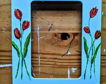 Tulip Stand Up Picture Frame