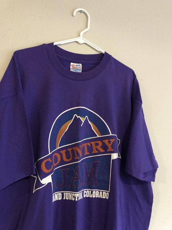 1993 Vintage t-shirt, country jam Single Stitch Sh