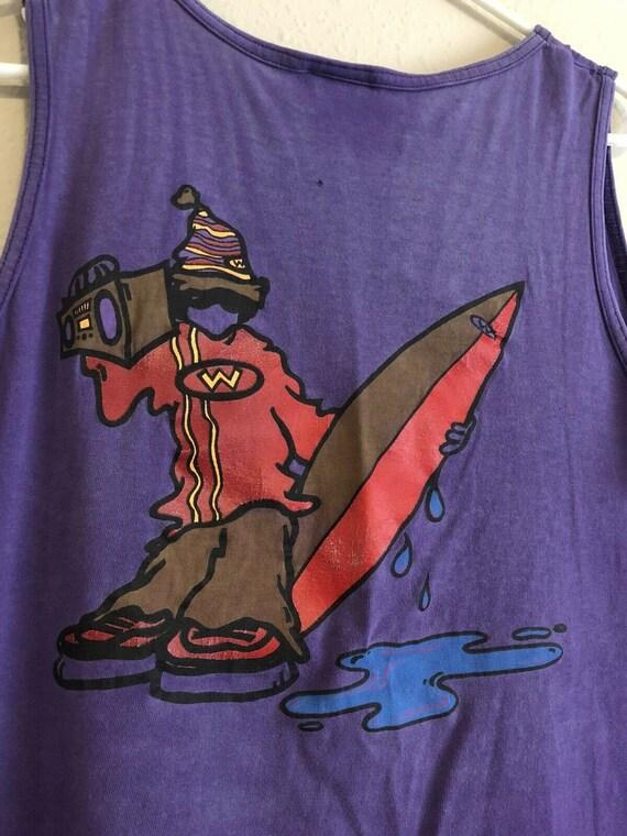 Vintage 1990s Weekends Beachwear Boombox Surfer Si