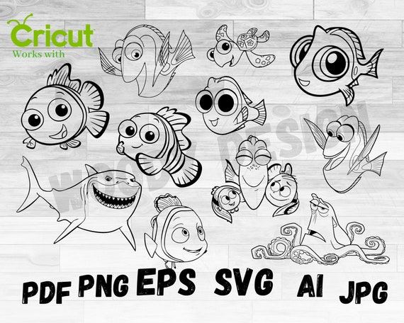 Nemo And Dory Coloring Pages