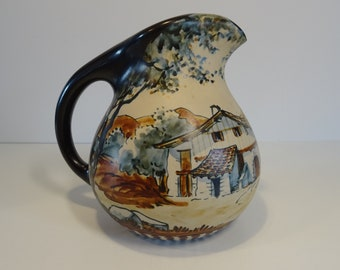 France found in Paris 12 French Port Couteaux made out of faience with a majolica glaze