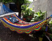Multicolor Hammock of Cotton