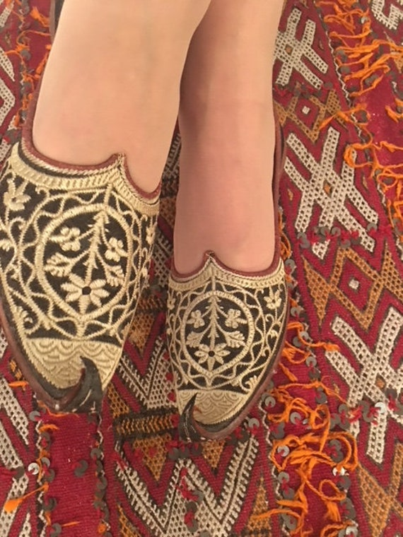 Turkish Handcrafted Embroidered Shoes