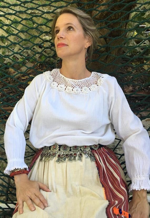 Turkish Peasant Blouse