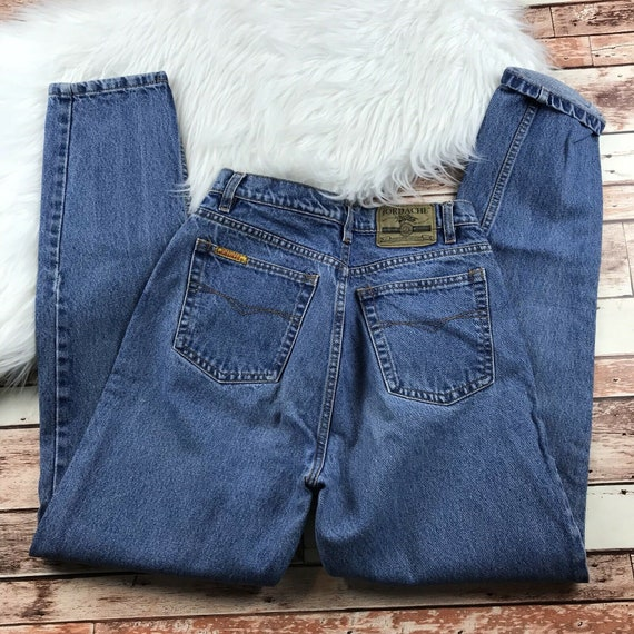 Vintage 1990's jordache mom jeans tapered leg