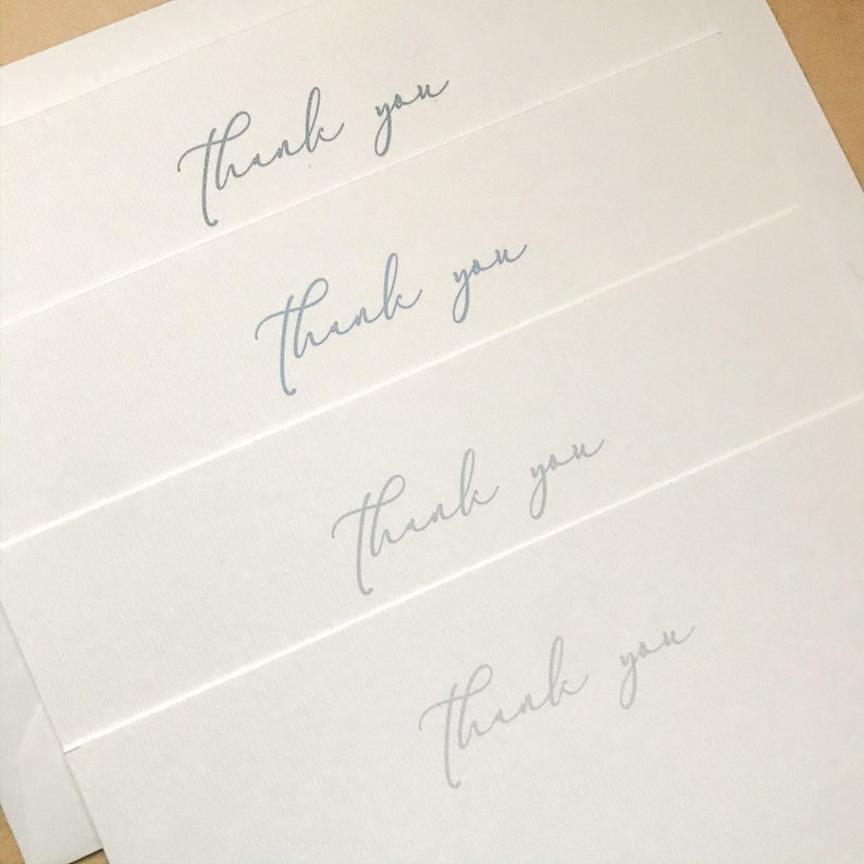 Downloadable Thank You cards Instant Download Digital Thank You Card Printable THANK YOU Cards