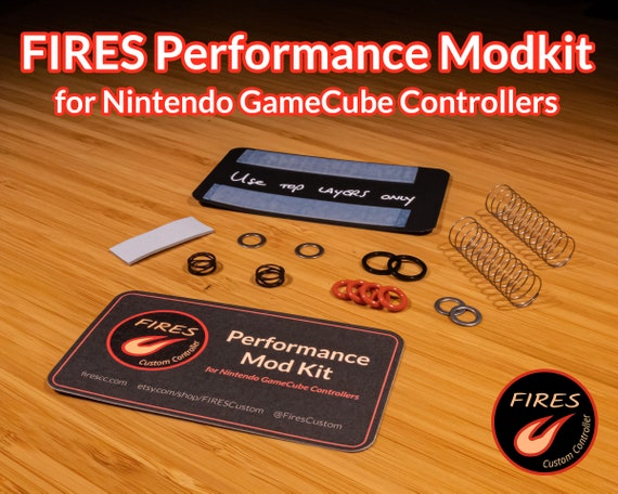 Fires Performance Mod Kit For The Nintendo Gamecube Controller Etsy