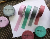 MT Deco Washi Tape Spring Summer 2020 Collection Japanese Craft Supply, Decorative Washi Tapes, Planner Tape
