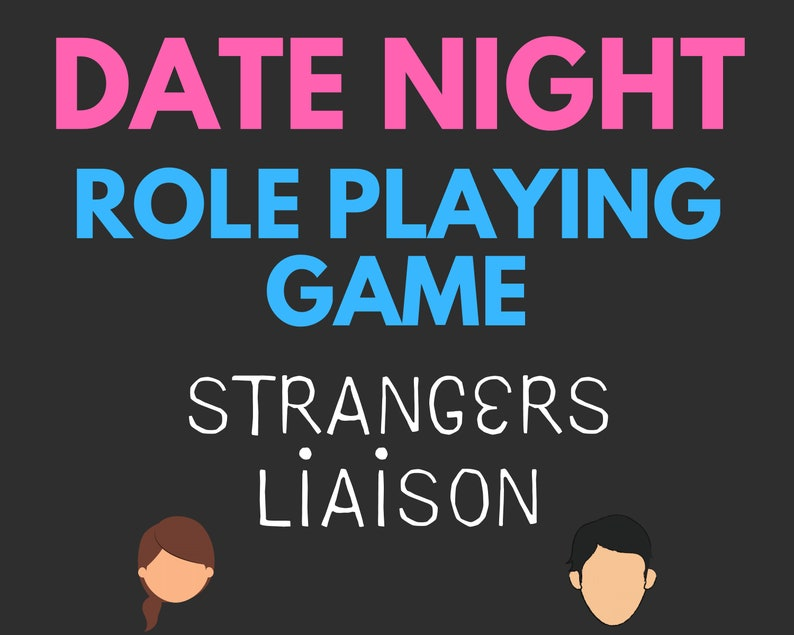 Date Night Couples Role Playing Game Printable Couples