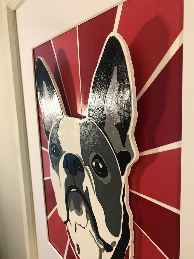 Pet Art Pet Wall Art Dog Art Custom Pet Portrait Custom Pet Art