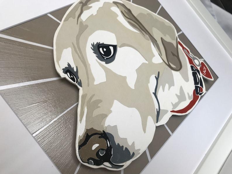 Puppy Art Custom Pet Art Pet Wall Art Pet portrait Dog Art