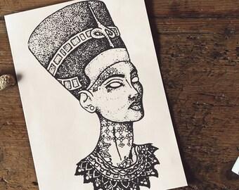 Pharaoh Tattoo Etsy