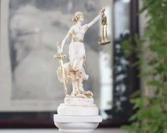 Lady Justice Statue Etsy