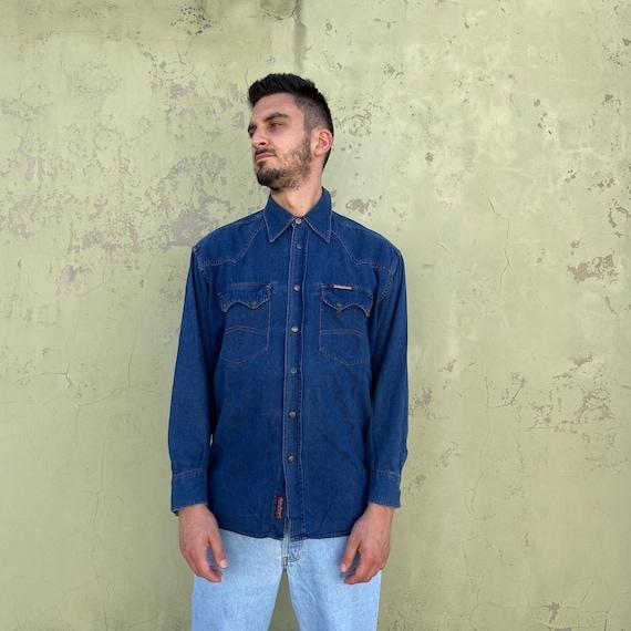 MARLBORO DENIM Vintage shirt by Jeans 90s Marlboro