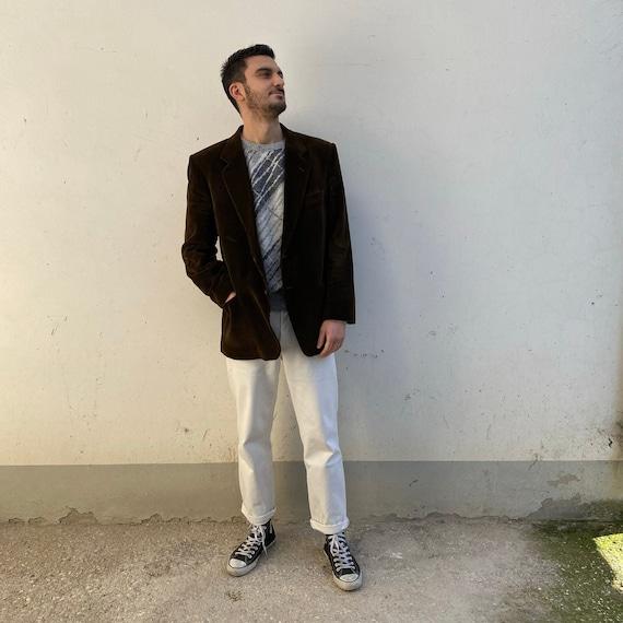 Corduroy vintage blazer / vintage men's blazer jac
