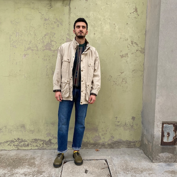 BARBOUR Vintage 90s as new, vintage beige Saharian