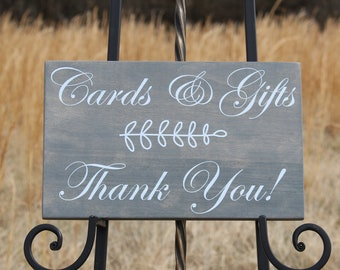 Wedding sign,Reception Sign,Cards and Gifts Sign,Gift Table Sign,Classic Wedding Sign,Wooden Wedding Sign,Wedding Decor,Reception Signage