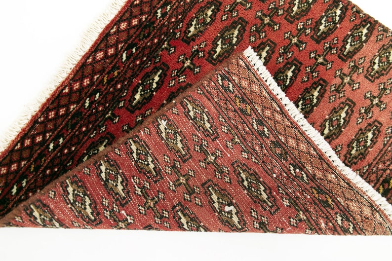 Oushak Rug Bohemian Rug Boho Carpet Doormat Bedside Rug Rug Mat 60 x 56 cm  Vintage Rug Bokhara Rug Nomadic Carpet 1.9 x 1.8 ft