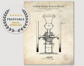 1875 COFFEE MILL Patent Digital Download Printable Image Vintage coffee mill, Coffee mill jpg, Coffee lover art, Coffee shop décor