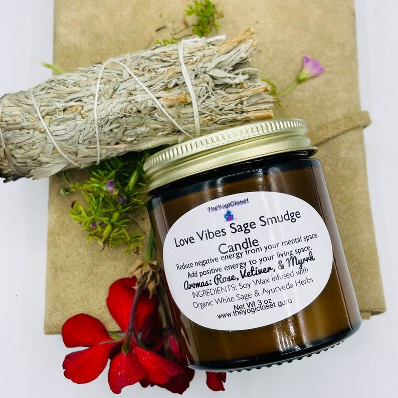 Alchemy Rose Soy Candle Flower Scented Candle Aromatherapy