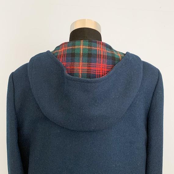 Vintage 60s Pendleton Blue Duffle Coat - 1960s Qu… - image 5