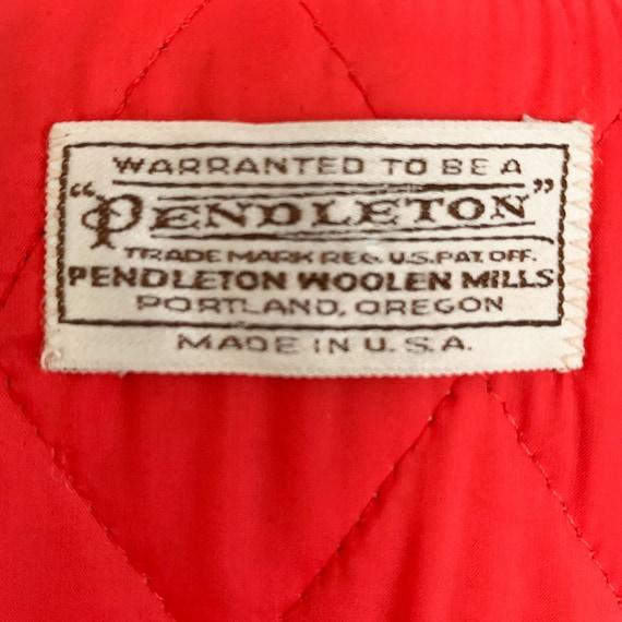 Vintage 60s Pendleton Blue Duffle Coat - 1960s Qu… - image 8