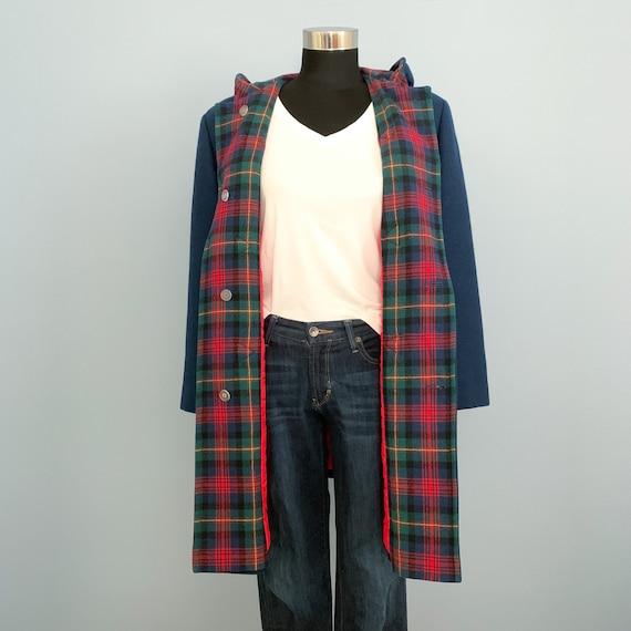 Vintage 60s Pendleton Blue Duffle Coat - 1960s Qu… - image 6