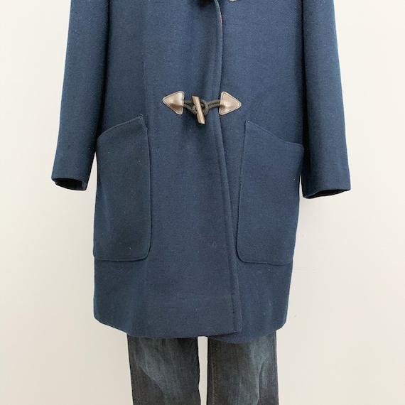 Vintage 60s Pendleton Blue Duffle Coat - 1960s Qu… - image 4