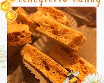 Crunchy Honeycomb Candy
