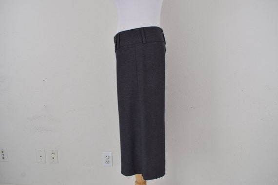 Low Waist Gray Gaucho Pants - image 6