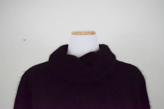 Cowl Neck Angora-Acrylic Sweater - image 6
