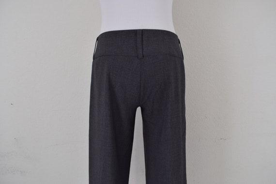 Low Waist Gray Gaucho Pants - image 7