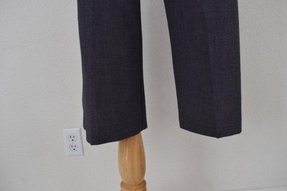 Low Waist Gray Gaucho Pants - image 8