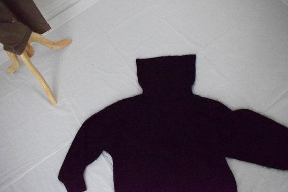 Cowl Neck Angora-Acrylic Sweater - image 2