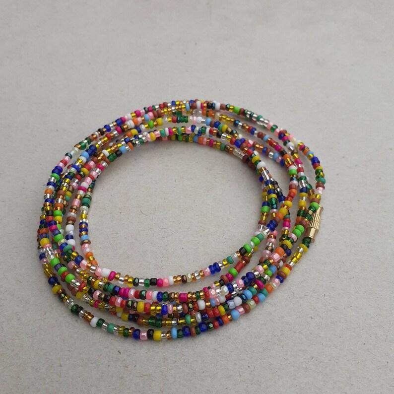 Waist beads Belly  Chains,Waist accessory Waist chains All fun Color African Waist Beads- African Waist Beads Body jewellery