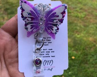 Butterfly Badge Reel